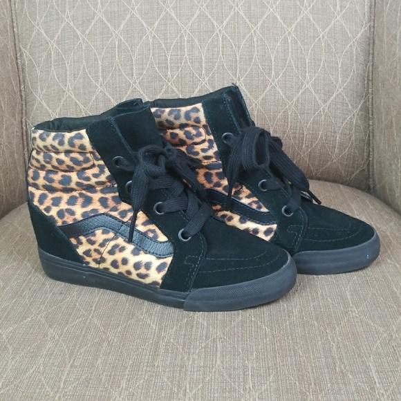 Vans Shoes   Vans Sneaker Heels   Poshmark